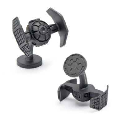 Star Wars® Matte Darth Vader TIE Starfighter Cuff Links
