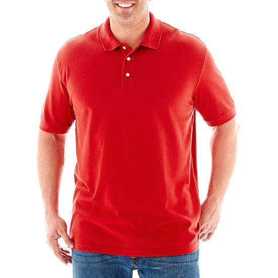 afb3e68c1a85 The Foundry Supply Co Solid Pique Polo ShirtBig & Tall
