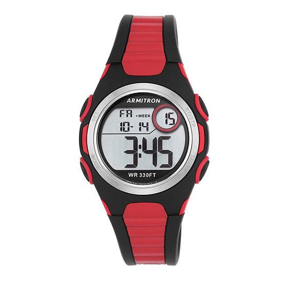 Armitron Pro Sport Womens Digital Two Tone Strap Watch-45/7076brd
