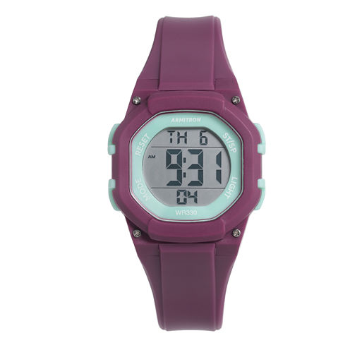 Armitron Womens Pink Strap Watch-45/7080pur
