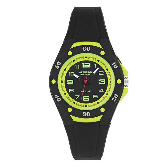 Armitron Womens Black Strap Watch 25 6428blg