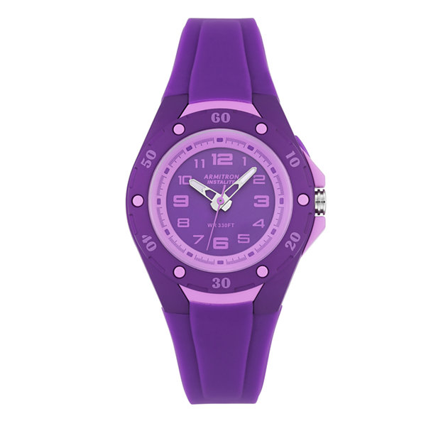 Armitron Womens Purple Strap Watch-25/6428pur