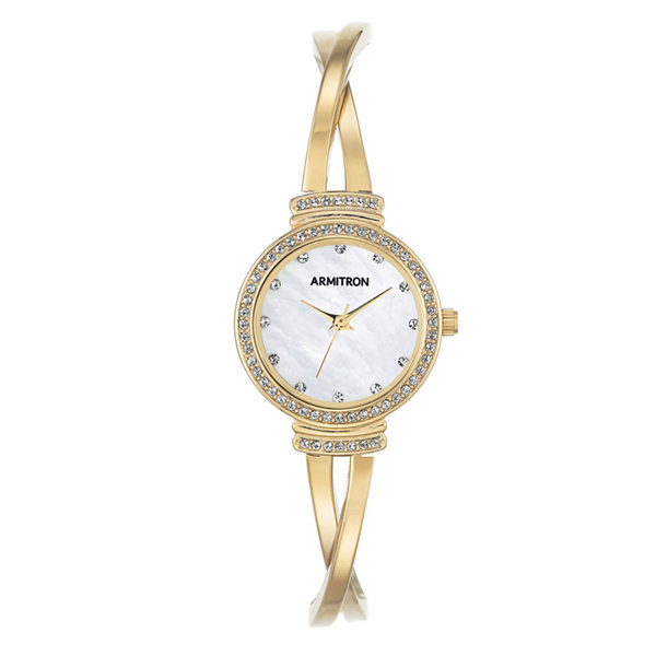 Armitron Now Womens Gold Tone Watch -75/5474mpgp