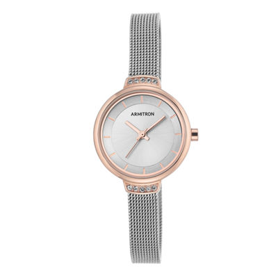 Armitron Now Womens Silver Tone Watch -75/5476svtr