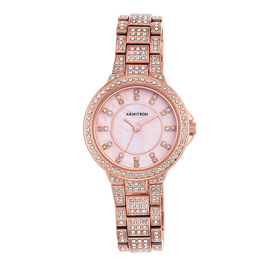 Armitron Now Womens Rose Goldtone Watch -75/5317pmrg