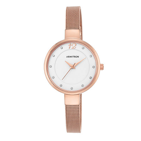 Armitron Now Womens Rose Goldtone Watch Boxed Set-75/5465wtrg, One Size