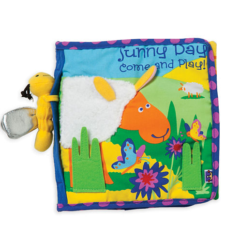 Manhattan Toy Sunny Day Soft Activity Book