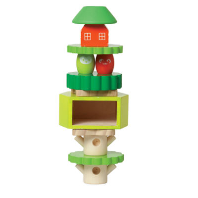 Manhattan Toy Treehouse Wooden Stack Up Baby Play