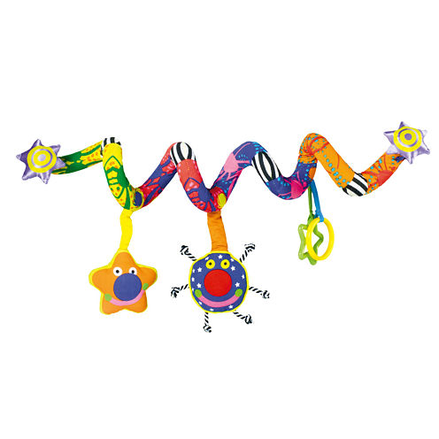 Manhattan Toy Whoozit Lights  Sounds Spiral Baby Play