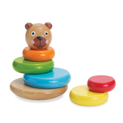 Manhattan Toy Bear Magnetic Stackup Baby Play