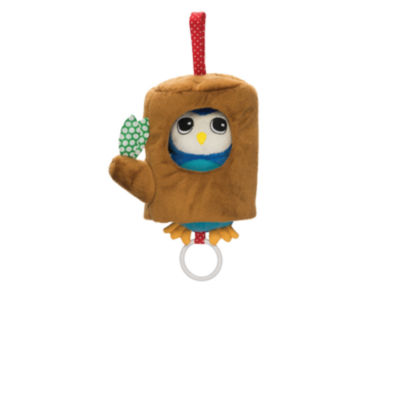 Manhattan Toy Lullaby Owl Musical Pull Toy