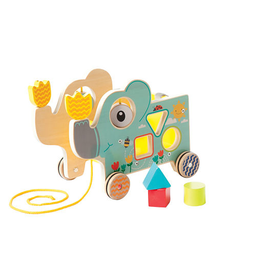 Manhattan Toy My Pal Elly Pull Along Baby Play
