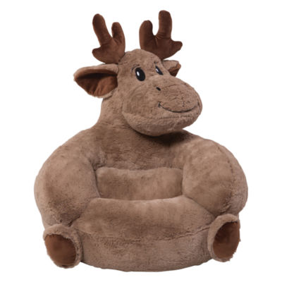 Trend Lab Plush Moose Character Kids Chair
