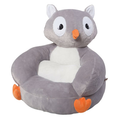 Trend Lab Plush Owl Character Kids Chair