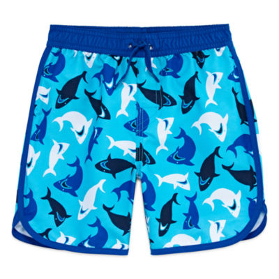 Arizona Boys Sharks Swim Trunks-Toddler