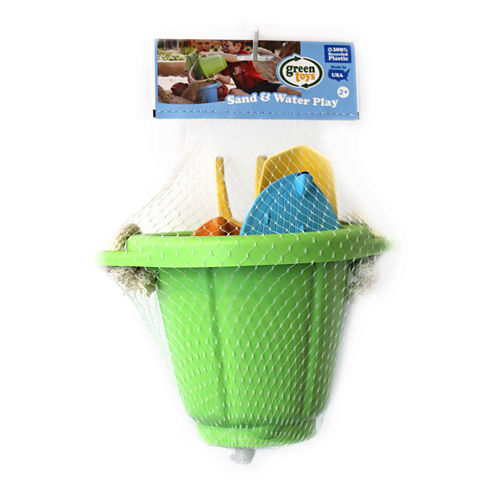 Sand And Water Play Bucket Sport Boats