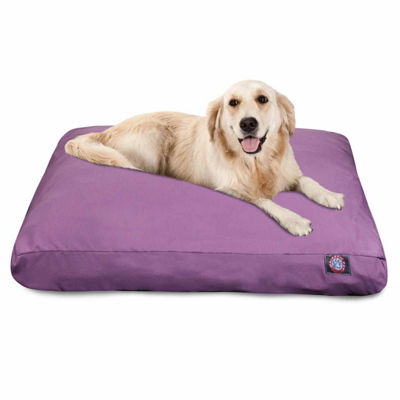 Majestic Pet Solid Rectangle Dog Bed
