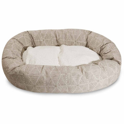 Majestic Pet Charlie Sherpa Bagel Pet Bed