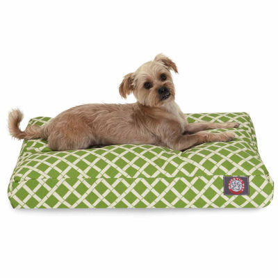 Majestic Pet Bamboo Rectangle Dog Bed