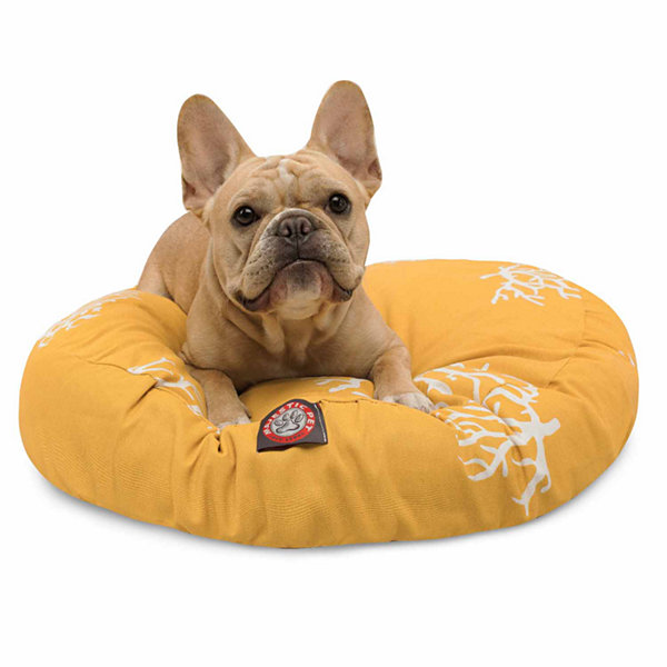Majestic Pet Coral Round Dog Bed