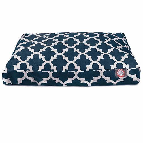 Majestic Pet Trellis Small Rectangle Dog Pet Bed