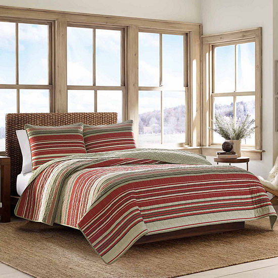 Eddie Bauer Yakima Reversible Quilt Set