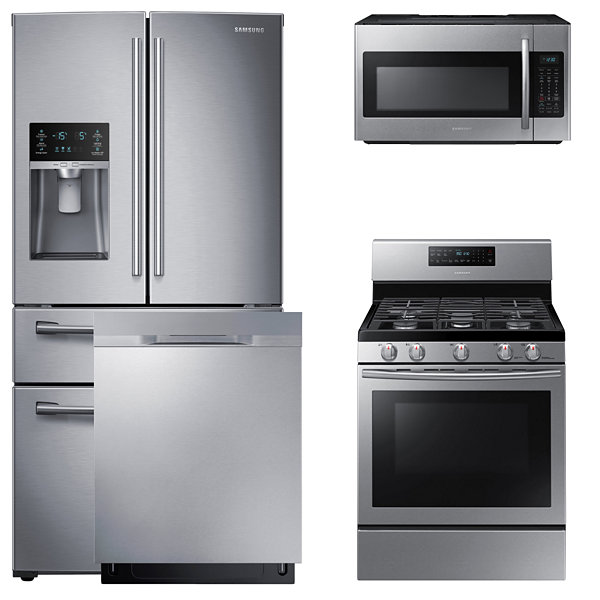 gas kitchen package  stainless steel samsung rf28hmedbsg aa 4 pc  gas kitchen package  stainless steel      rh   jcpenney com
