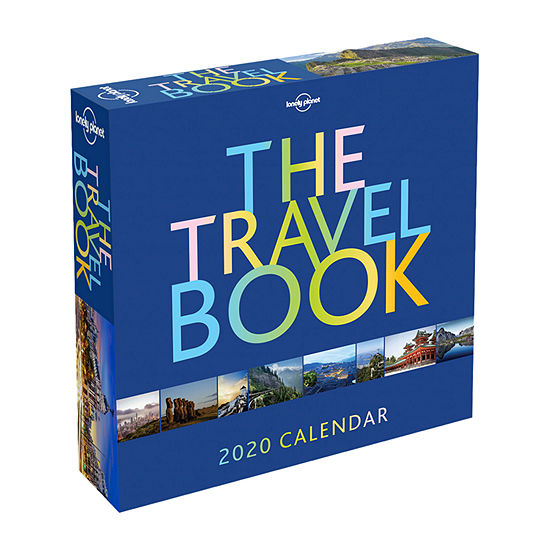 Tf Publishing 2020 The Travel Book Daily Desktop Calendar