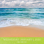 Tf Publishing 2020 Tropical Beaches Daily Desktop Calendar