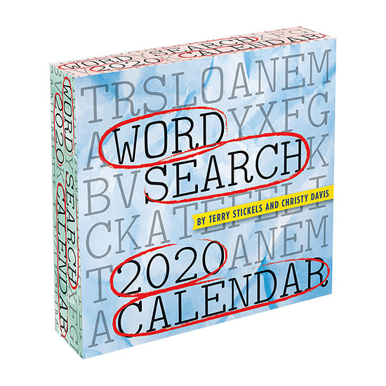 Tf Publishing 2020 Word Search Daily Desktop Calendar
