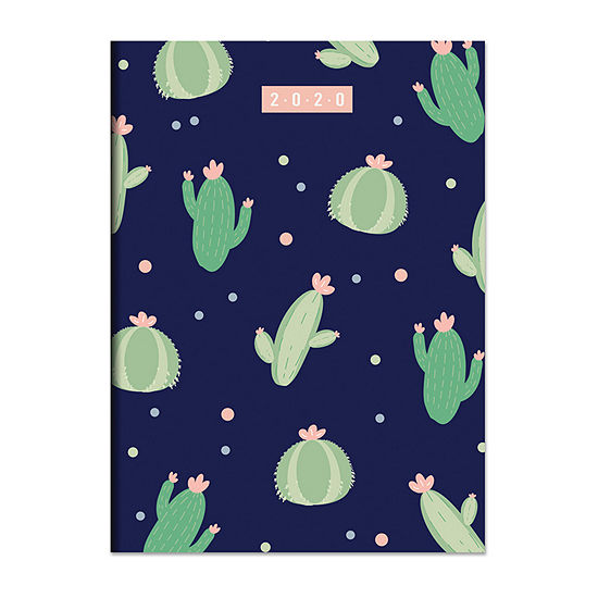 Tf Publishing 2020 Cacti Dots Medium Monthly Planner