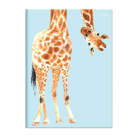 Tf Publishing 2020 Jazzy Giraffe Medium Monthly Planner