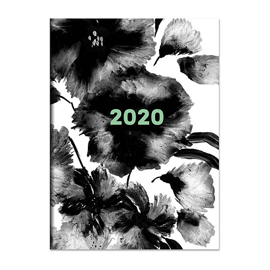 Tf Publishing 2020 Inky Floral Medium Monthly Planner