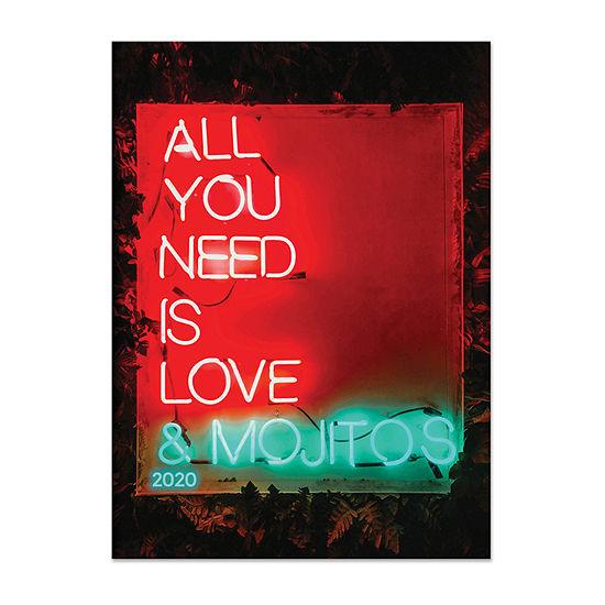 Tf Publishing 2020 Love Mojitos Medium Monthly Planner