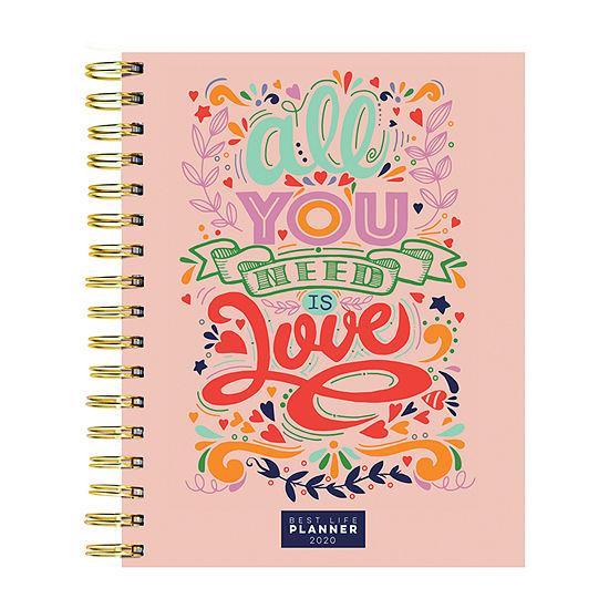 Tf Publishing 2020 You Need Love Best Life Daily Weekly Monthly Luxe Planner