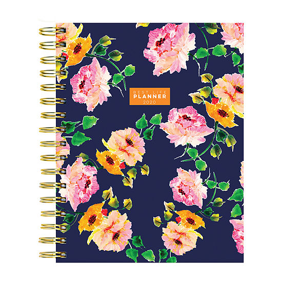 Tf Publishing 2020 Posey Petals Best Life Daily Weekly Monthly Luxe Planner