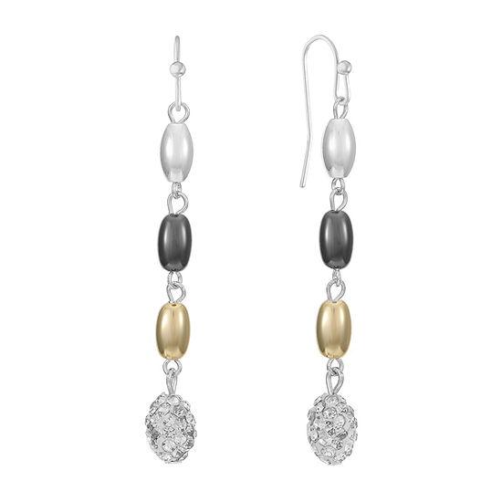 Liz Claiborne Oval Drop Earrings