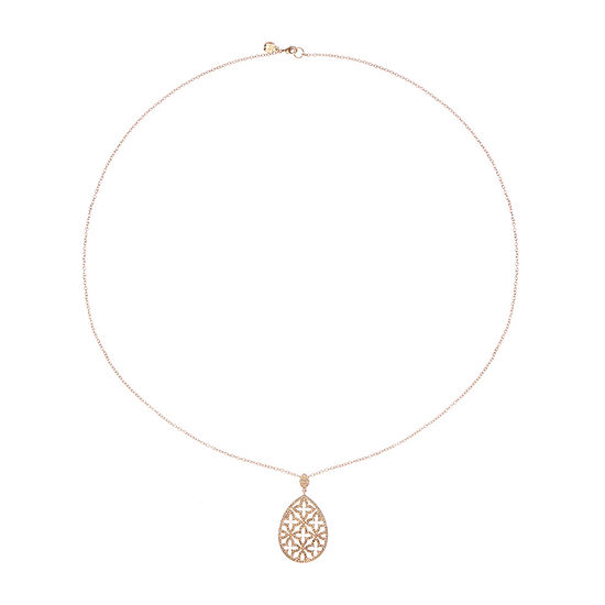 Monet Jewelry 36 Inch Cable Pendant Necklace
