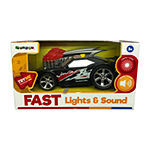 Fast Electric Car With Light & Sound By Grooyi