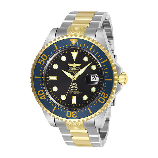 Invicta Pro Diver Mens Automatic Two Tone Stainless Steel Bracelet Watch-28684