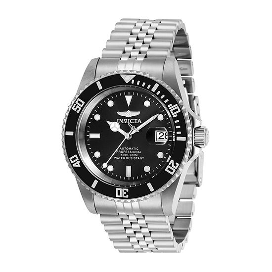 Invicta Pro Diver Mens Automatic Silver Tone Stainless Steel Bracelet Watch-29178