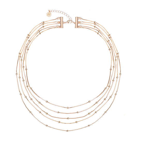 Monet Jewelry 18 Inch Snake Strand Necklace