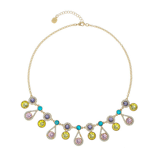 Monet Jewelry 17 Inch Cable Round Statement Necklace