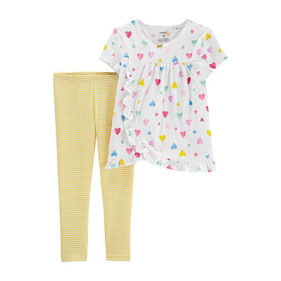 Carter's Girls 2-pc. Legging Set-Baby