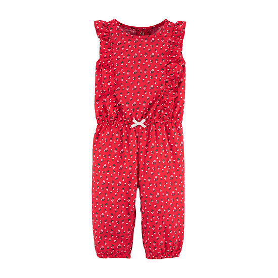 Carter's Baby Girls Short Sleeve Jumpsuit