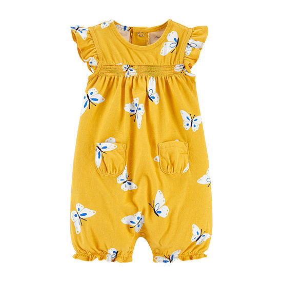 Carter's - Baby Girls Short Sleeve Romper