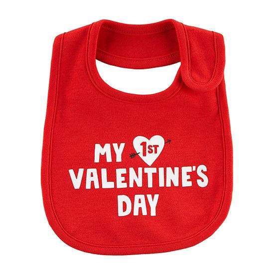 Carter's Valentine Unisex Bib