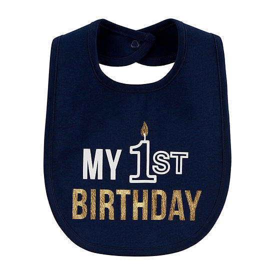 Carter's First Birthday Unisex Bib