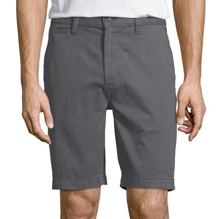 Arizona Flex Slim Fit Mens Chino Short, 30 , Blue
