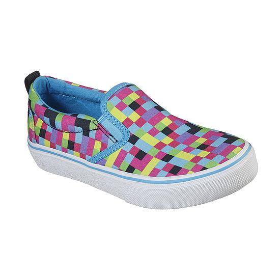 Skechers Sk-Marley Jr Pixel Burst Little Kid/Big Kid Girls Sneakers